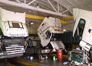 ремонт грузовых автомобилей Scania, Скания